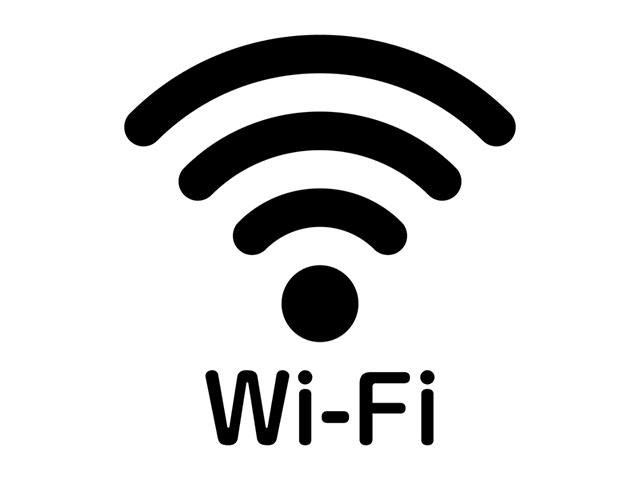 ホテル館内でフリーWi-Fiが対応となりました。