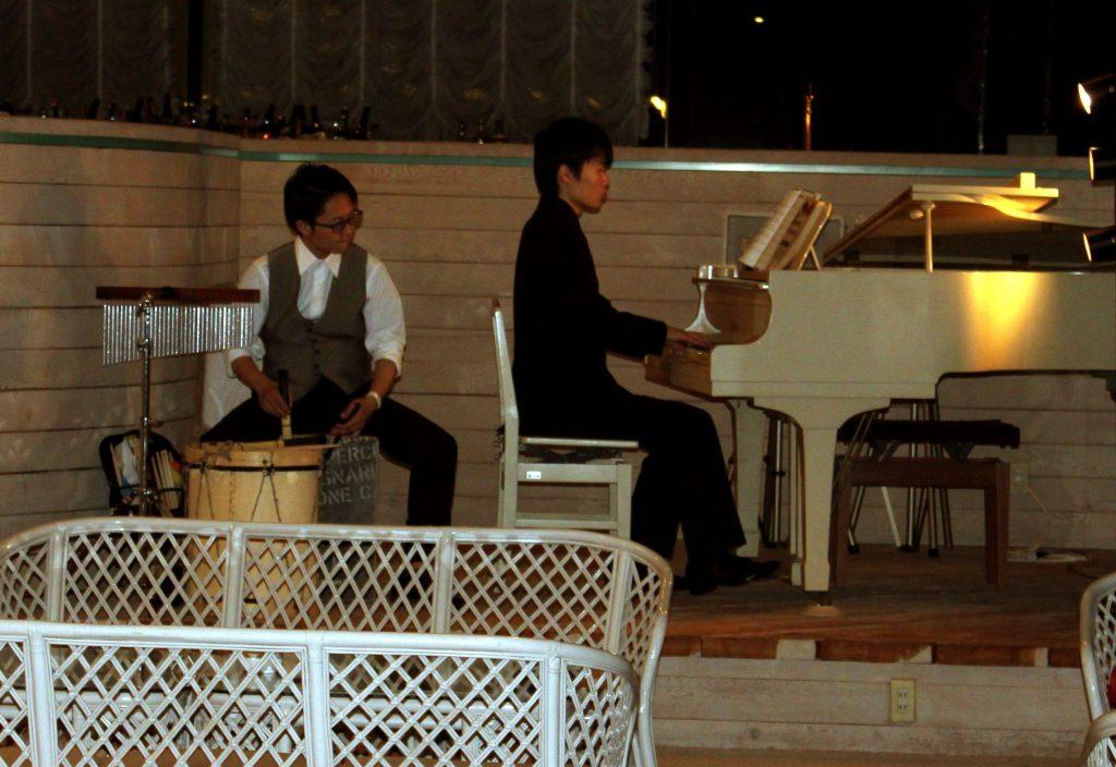 JAZZピアノ演奏 パーカッション演奏 3月のお知らせ♪