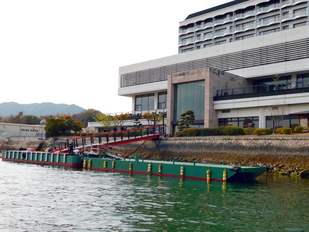 [news]桟橋安全対策工事のお知らせ(5月6日~5月18日)